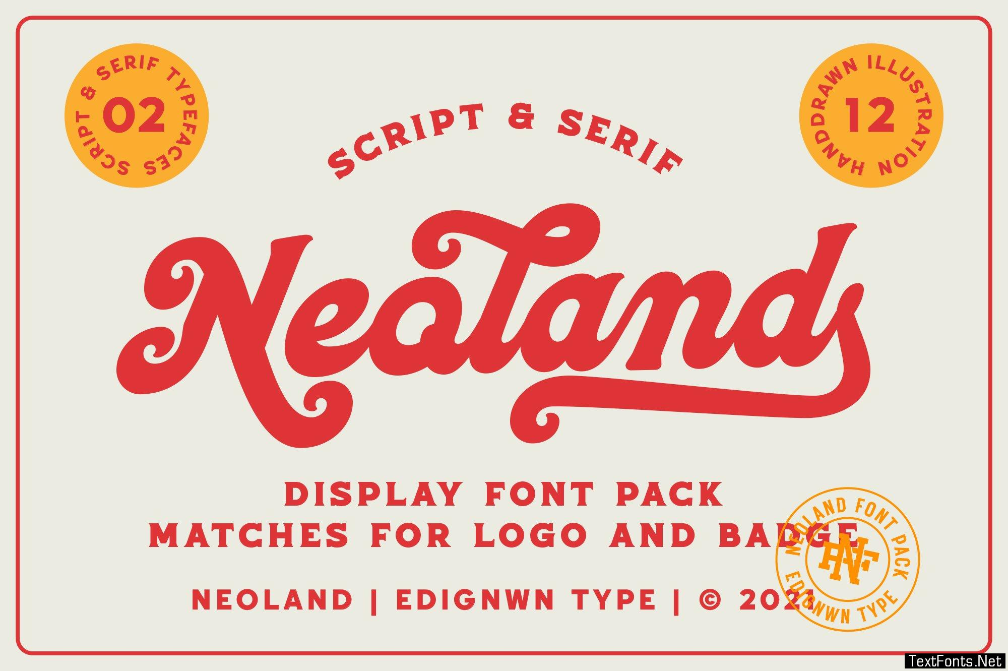 Neoland - Display Font 6474351