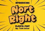 Nort Right Font