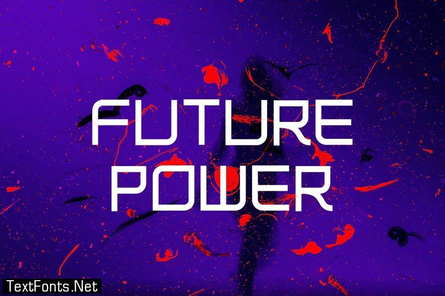 OLYMPUS - Futuristic Font