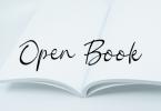 Open Book Font
