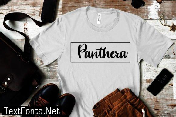 Panthera Font