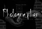 Photographer Font