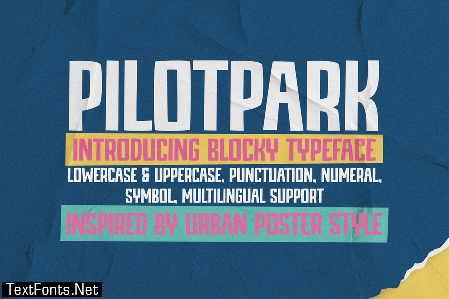 PILOTPARK Font