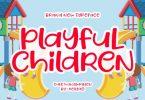 Playful Children Font