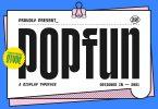 POPFUN Font