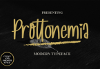 Prottonemia Font