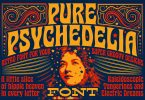 Pure Psychedelia Font 5833702