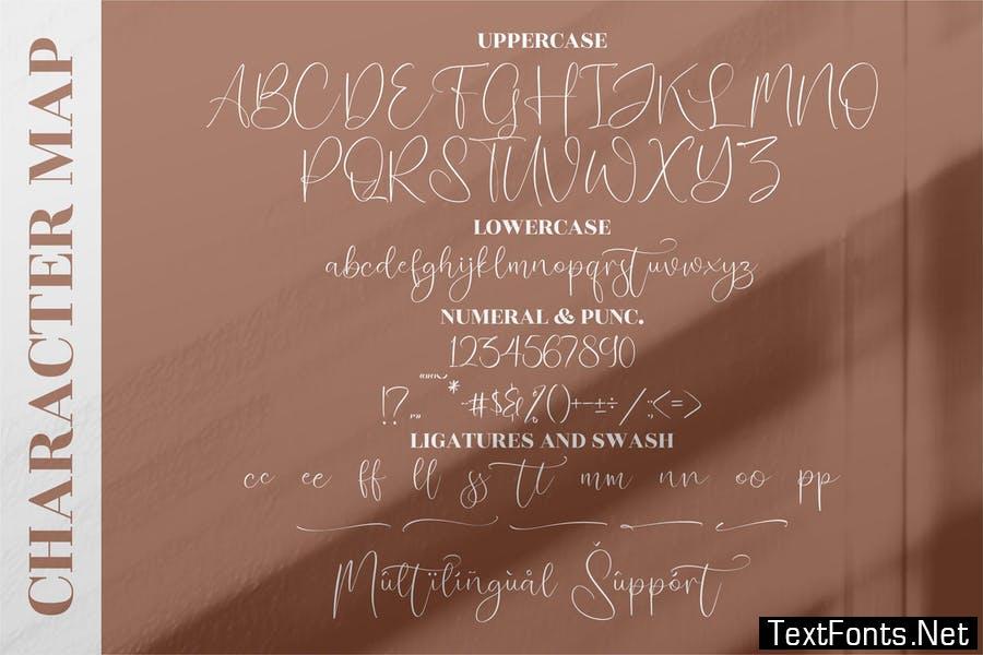 Puspita Handwritten Font LS