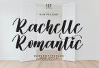 Rachelle Romantic Font