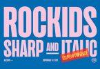 Rockids - Sharp Font