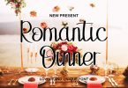 Romantic Dinner Font