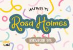 Rosa Holmes Font