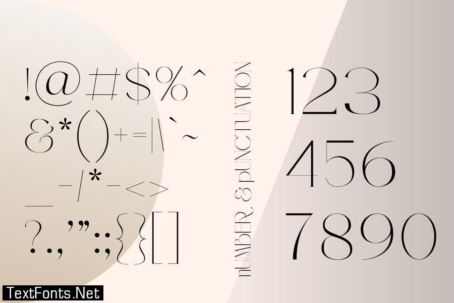 Rosalia | Modern Stylish Font