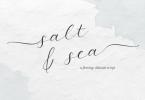 Salt and Sea Font