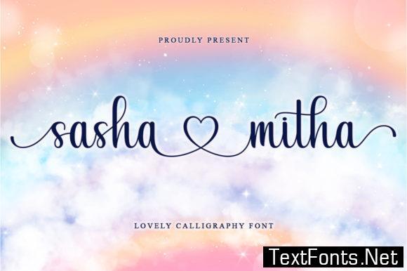 Sashamitha Font