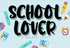 School Lover Font