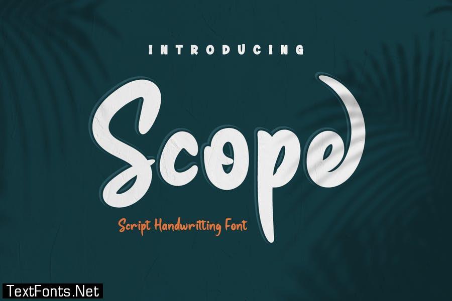 Scope Font