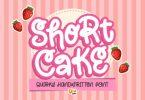 Short Cake Font