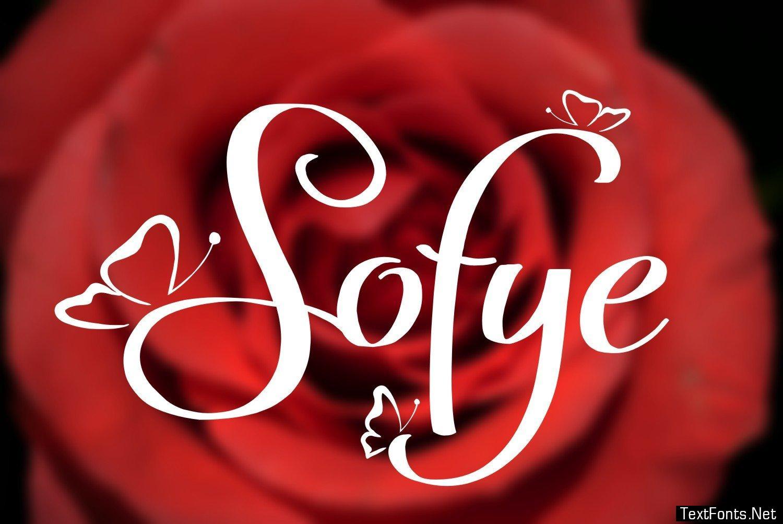 Sofye Font