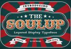 Soulup Typeface Font