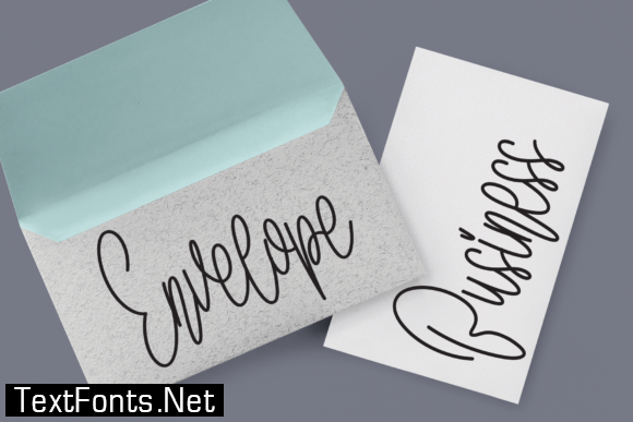 Stay Signature Font
