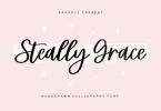 Steally Grace Font