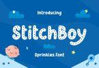 Stitch Boy – Sprinkles Font