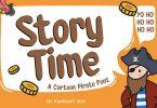 Storytime - Kids font