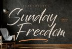 Sunday Freedom Modern Brush LS