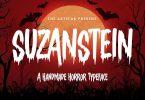 Suzanstein - Horror Font