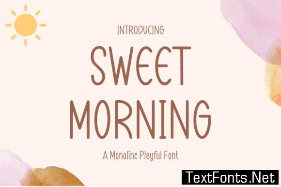 Sweet Morning Font