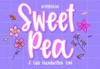 Sweet Pea Font