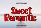 Sweet Romantic Font