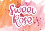 Sweet Rose Font