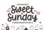 Sweet Sunday Font
