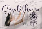 Syalitha Beautiful Script LS