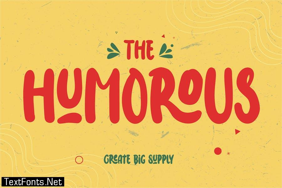 The Humorous - Happy Display Font