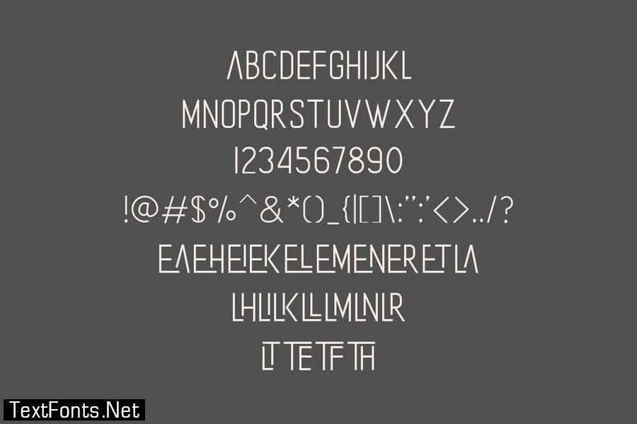The Laker - Modern Sans Serif