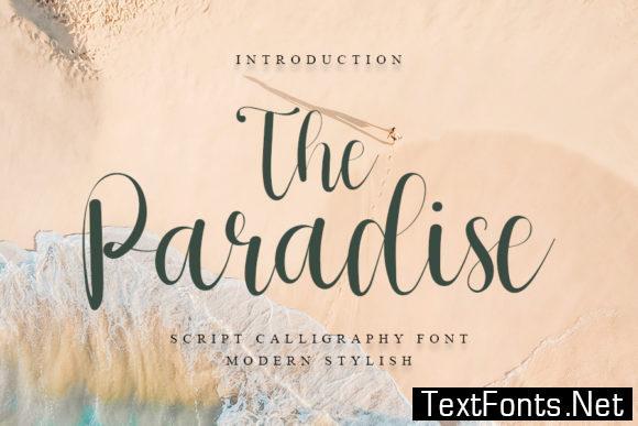 The Paradise Font