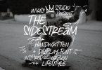 The Sidestream - Handwritten Display