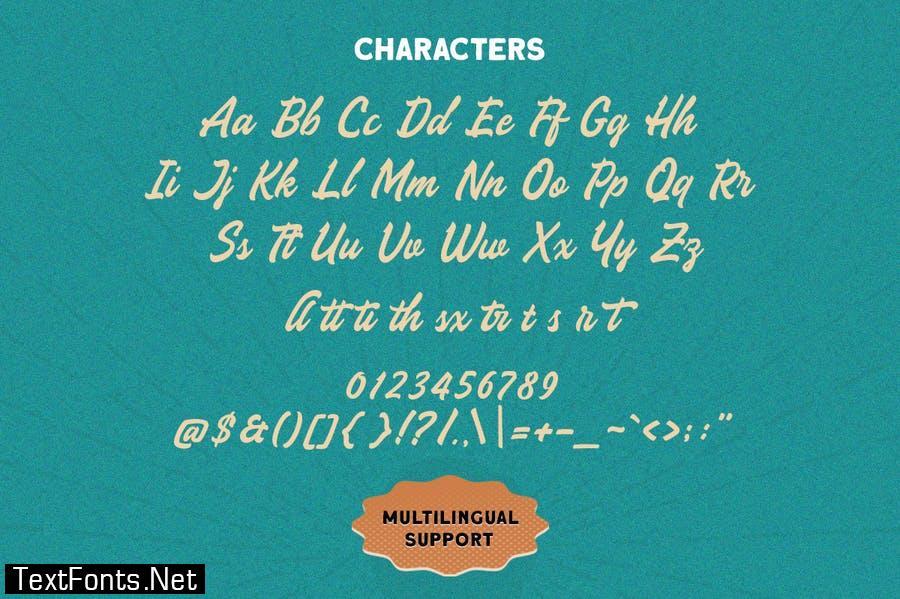 The Sign Paintoh Font