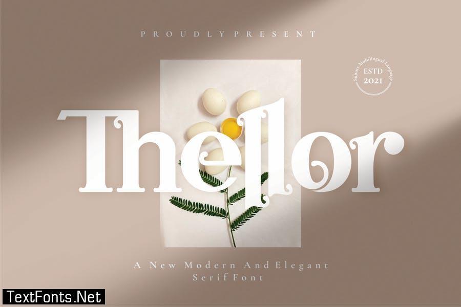 Thellor - Serif Font