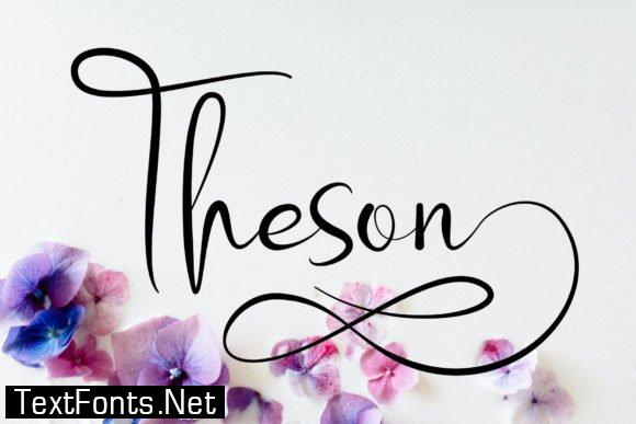 Theson Font