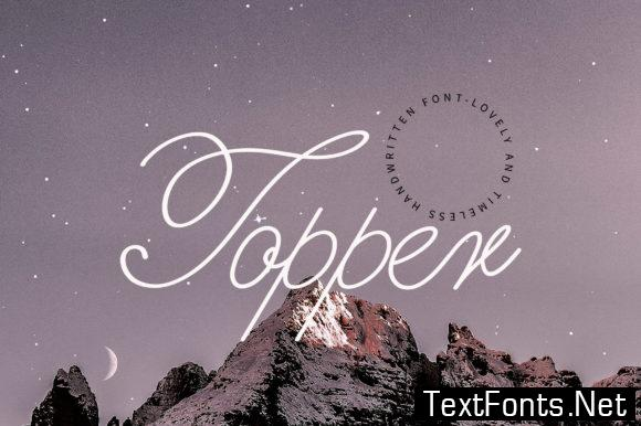 Topper Font