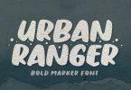 Urban Ranger - Display Font
