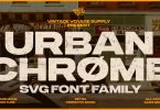 Urbanchrome Font Family
