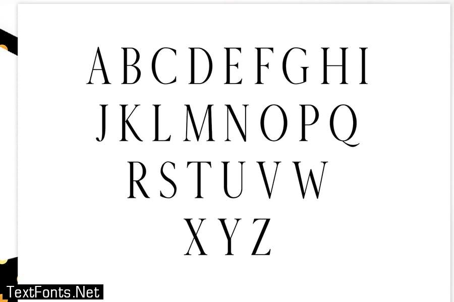 Veera Serif Typeface