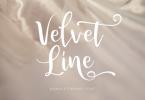 Velvet Line Font