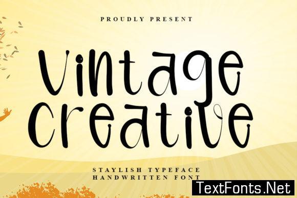 Vintage Creative Font