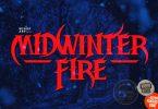 Widwinter Fire: A Gothic Fantasy Font